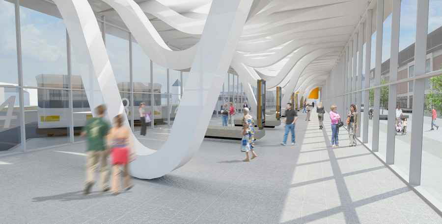 Delayed £5m Blackburn Bus Station To Open this Easter