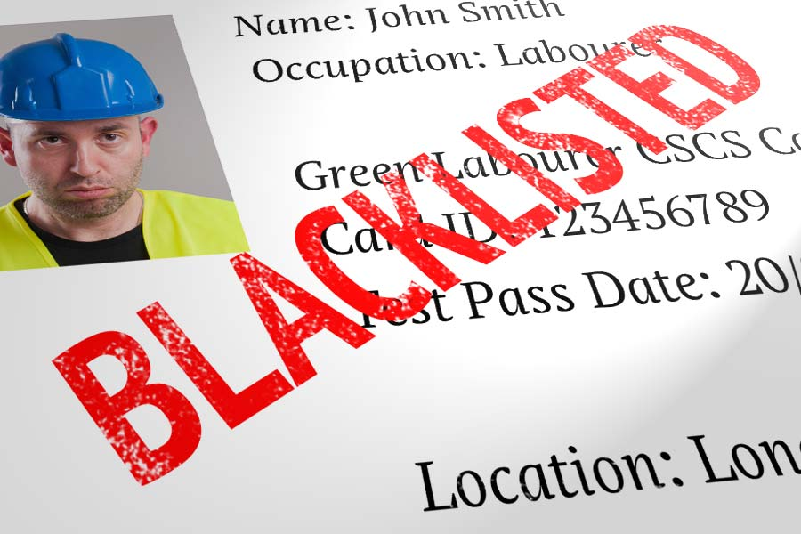 The Dark Truth about Blacklisting in Construction