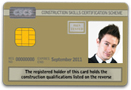Worker Gold CSCS Card