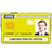 Yellow CSCS Card