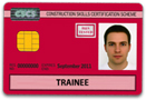 Worker Red CSCS Card