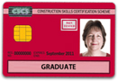 Trainee Red CSCS Card