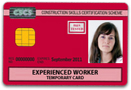 Manager Red CSCS Card